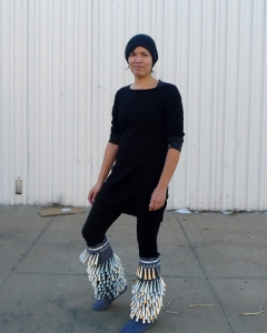 artist in jingle boots